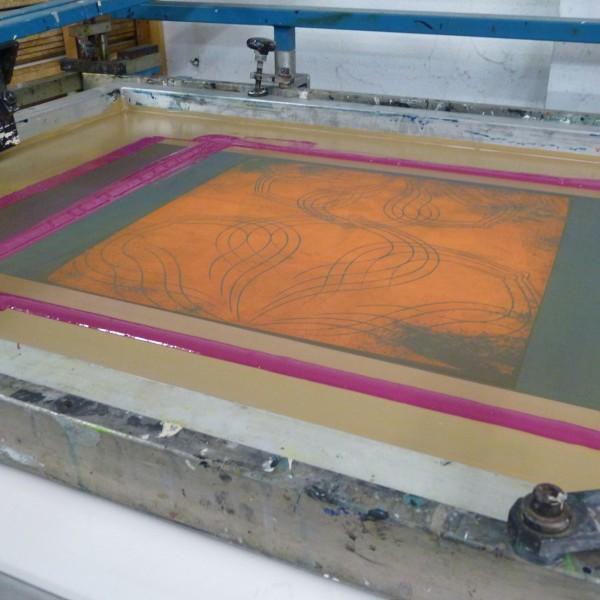 Siebdruckhandwerk